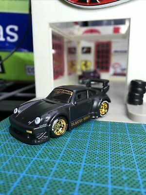 HOT WHEELS 2019 CAR CULTURE Custom RWB PORSCHE 930 With Real Riders