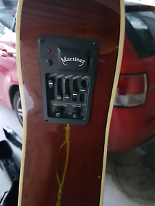 Martinez acoustic guitar Chelsea Heights Kingston Area Preview