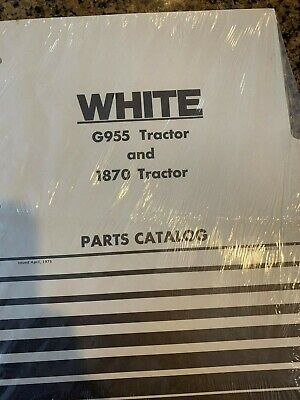 Wfe White G955 And 1870 Tractor Parts Catalog Catlogue