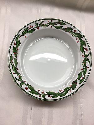 """Dansk Holiday Harvest Soup Salad Cereal  Bowl - 7 3/4"""" Round - Portugal"""