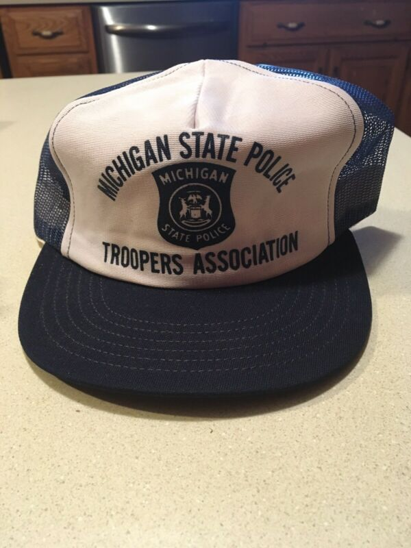 Vintage Michigan State Police Troppers Association Hat