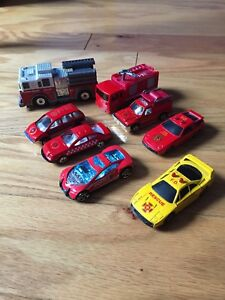 Fire rescue toy cars