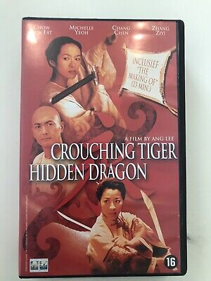 VHS - Crouching Tiger Hidden Dragon
