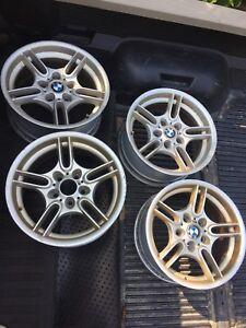 OEM BMW Style 66 Wheels Rims E46 E39 E34 5 3 Series