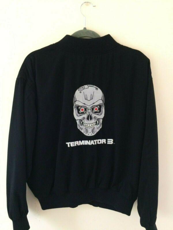 Arnold Schwarzenegger Terminator 3 Rise of the Machines T Nowak Jacket Black