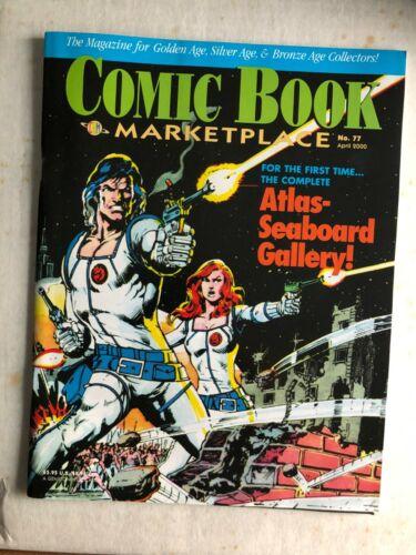 Fanzine COMIC BOOK MARKETPLACE #77 - Atlas/Seaboard