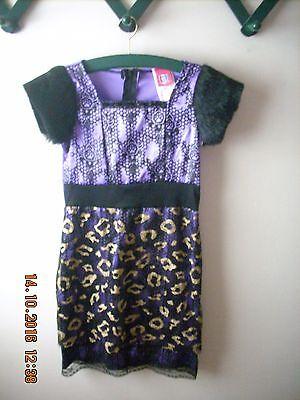 Monster High Clawdeen Scaris Wolf Dress Costume Girl Rubies 887927~Dress Only!!!