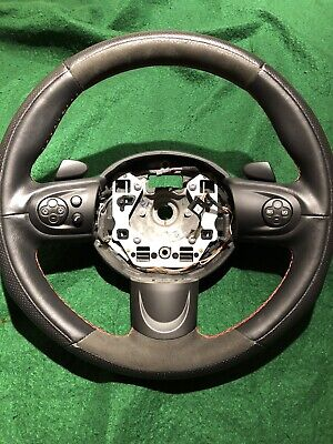 MINI COOPER Steering Wheel  R56 Custom Wrapped  In Leather And Alcantara Mini Steering Wheels