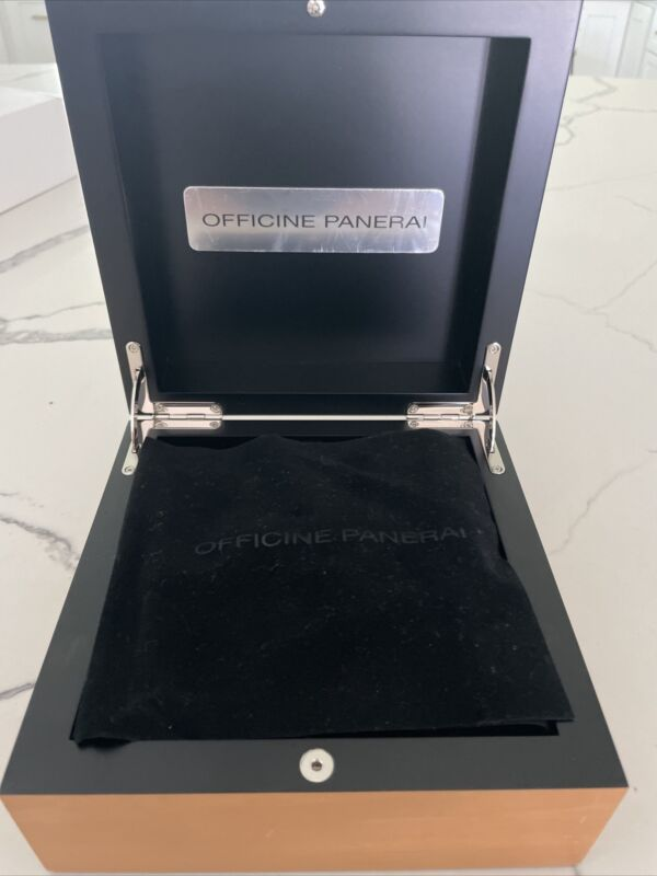 officine panerai watch box - box only, watch not included