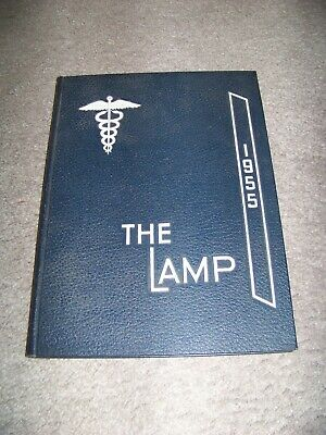 1955 The Lamp University of Virginia Department of Nursing Charlottesville VA