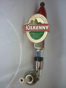 Kilkenny Draught Beer Emblem on Lever Handle and Tap Assembly Prospect Launceston Area Preview