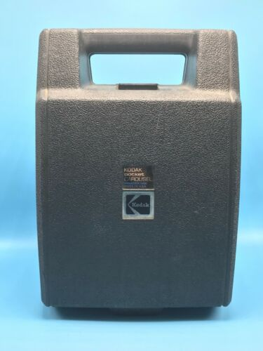 Kodak Pocket Carousel 100 Slide Projector with Hard Case TESTED-WORKS