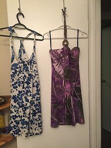 2 Small Size Dresses and Small Skirt