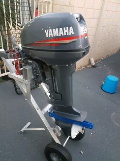 Yamaha 9.9hp 2 stroke outboard