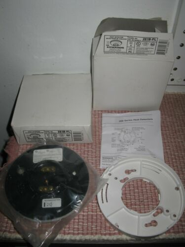 NOS  2 - Edwards 281B-PL Heat Detectors NIB