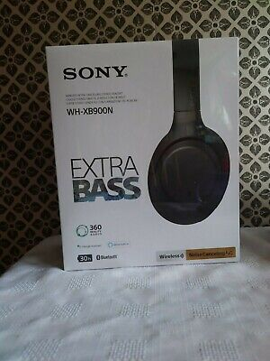 Sony EXTRA BASS WH-XB900N Wireless Noise-Cancelling Headphones - 1-DAY DELIVERY!