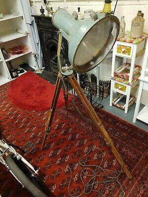 Vintage/Retro Tripod Floor Lamp Height Adjustable