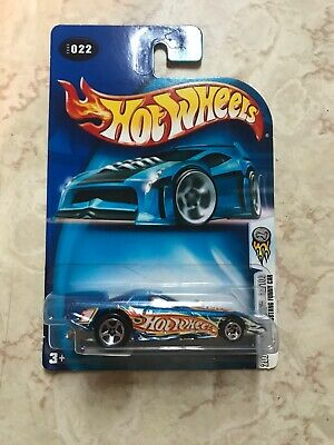 2004 Hot Wheels First Editions #22/100 Mustang Funny Car #022 Blue BRAND NEW