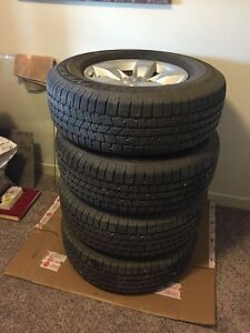 P265/70R17 with rims