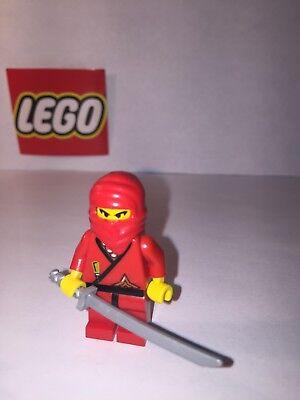 LEGO Red Shogun 1186 6093 3018 6083 6013 Ninja Castle Minifigure Figure MINT