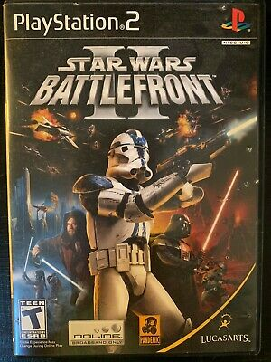 Star Wars: Battlefront II (PlayStation 2, 2005) PS2 - Complete & Tested