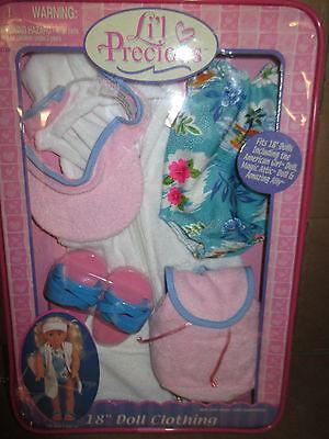 LI39L PRECIOUS 18quot DOLL CLOTHESFITS AMERICAN GIRL MAGIC ATTIC amp  MORENEW