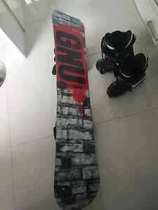 2013 GNU snowboard/boots, swaps/sell Geelong Geelong City Preview