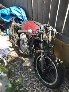 Honda CX 500 project motivated to sell