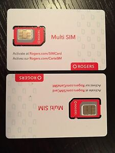 Rogers SIM cards
