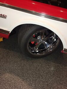 GMC Chevy  C10  wheel and tire combo