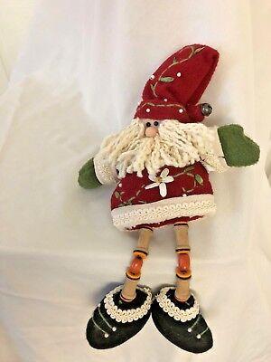 Dangle Leg Santa (Plush 15
