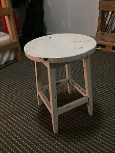 Old stool / table Waterloo Inner Sydney Preview