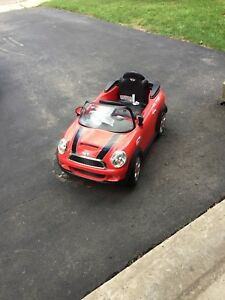 Mini Cooper ride on toy car