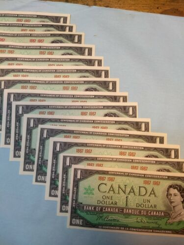 Canadian centennial dollar 1867-1967 lot of 14