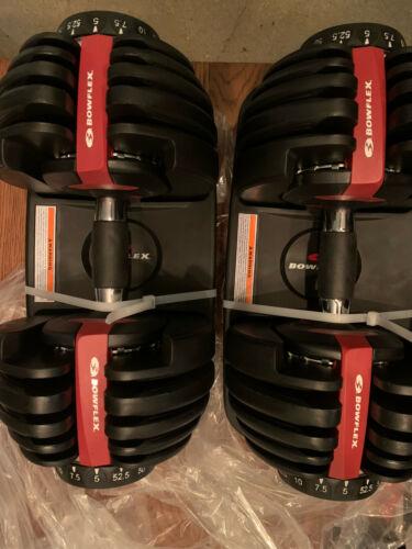 Bowflex SelectTech 552 Adjustable dumbbells  dumbbell Pair fitness gym