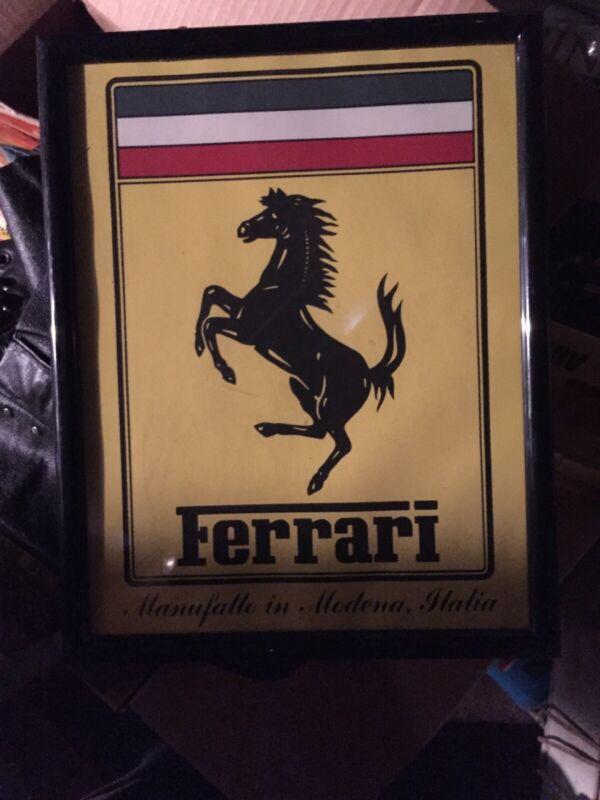 Ferrari Plaque