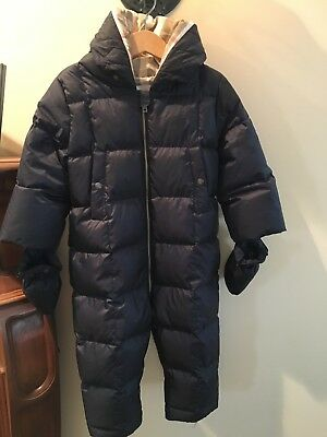 Burberry Baby Winter Goose Down Snowsuit, size 24M in Excellent (Burberry Junior)