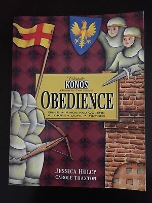Classic KONOS Character Curriculum:  OBEDIENCE Unit Studies