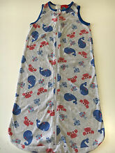 Grey/Blue/Red 0.5 Tog Sleeping Bag - Size 1 (12-18 mths) Scarborough Stirling Area Preview
