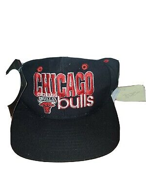 Vintage Limited Edition Numbered Chicago Bulls Hat Snap Back New With Tags