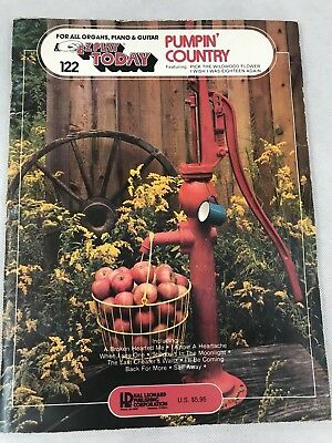 Ez Play Piano - EZ Play Today 122 Pumpin Country Music Book Preowned Organ Piano Guitar