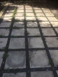 Concrete slabs 500x500