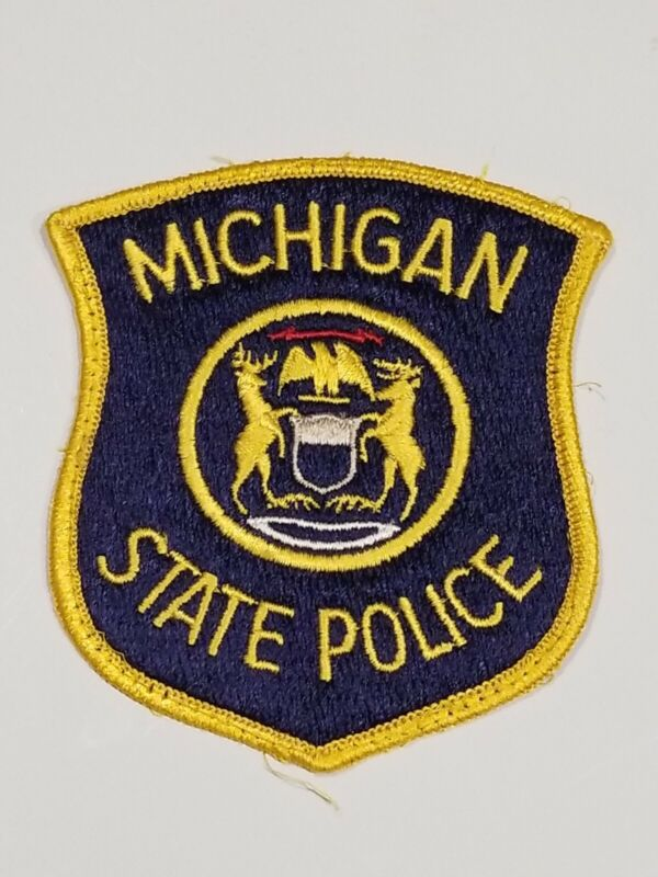 AUTHENTIC MICHIGAN STATE POLICE PATCH
