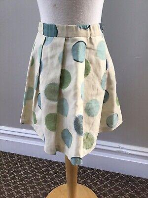 La Bottega Di Giorgia Dot Skirt 6 Nwt