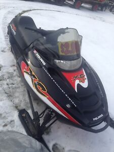 2002 Polaris XC edge 800 cc (reverse)