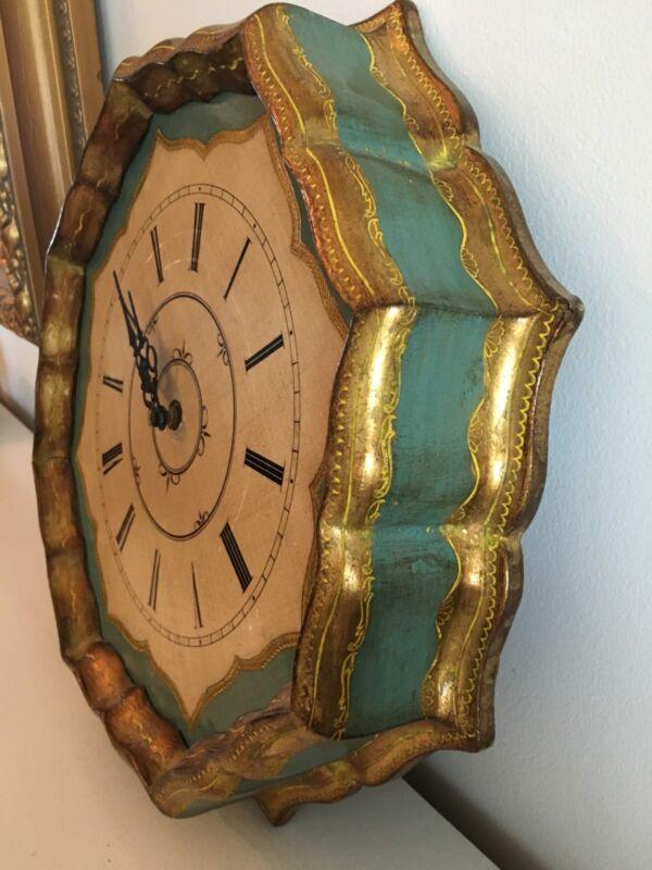 Gorgeous Italian Florentine Clock