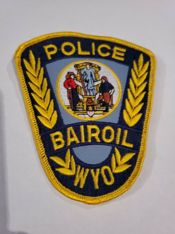 Bairoil Wyoming Police Patch