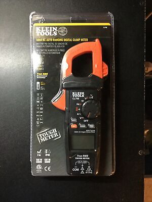 Klein Tools Ac Auto-ranging Trms Digital Clamp Meter Cl700 Brand New Sealed