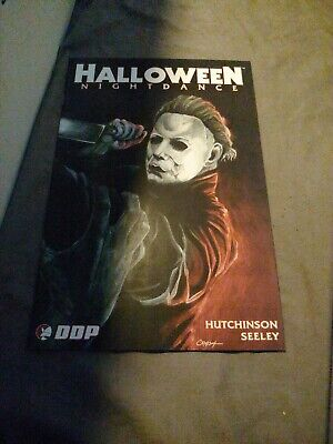 Halloween Nightdance Comic Book (Halloween nightdance comic 4B unread condition Michael)