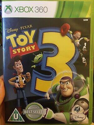 TOY STORY 3 - Xbox 360 - Disney Pixar - GOOD + MANUAL FAST SAME DAY POST